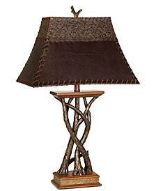 Pacific Coast Montana Reflections Table Lamp