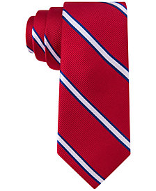 Tommy Hilfiger Repp Stripe Tie, Big Boys