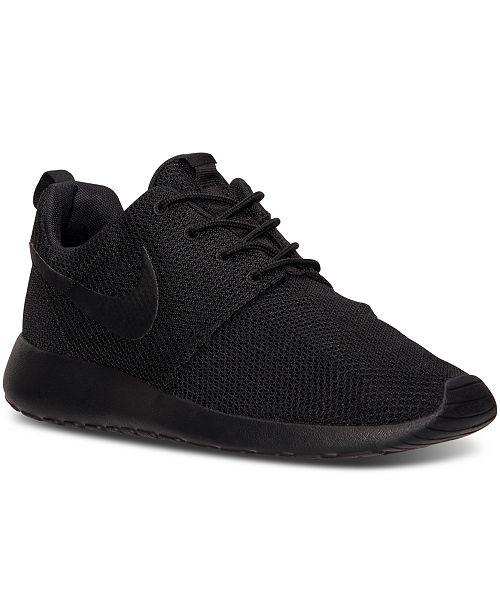 77d2915f9eaa0 Nike Men s Roshe One Casual Sneakers from Finish Line   Reviews ...