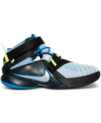 954c99838df Nike Youth Lebron Soldier 9 Boys Basketball Shoes