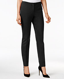 Alfani Modern Skinny Ponte Pants, Created for Macy's
