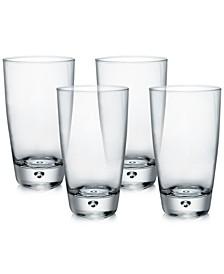 Luna Set of 4 Highball Glasses