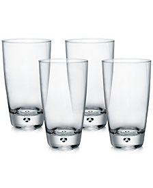Bormioli Rocco Luna Set of 4 Highball Glasses