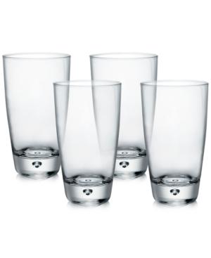 Bormioli Rocco Luna Set of 4 Highball Glasses
