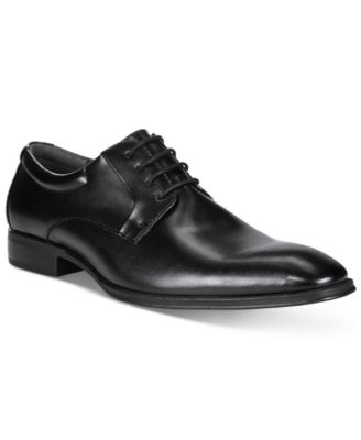 IKON Mens Leather English III Black Slip On Casual Formal Shoes New UK Size 6
