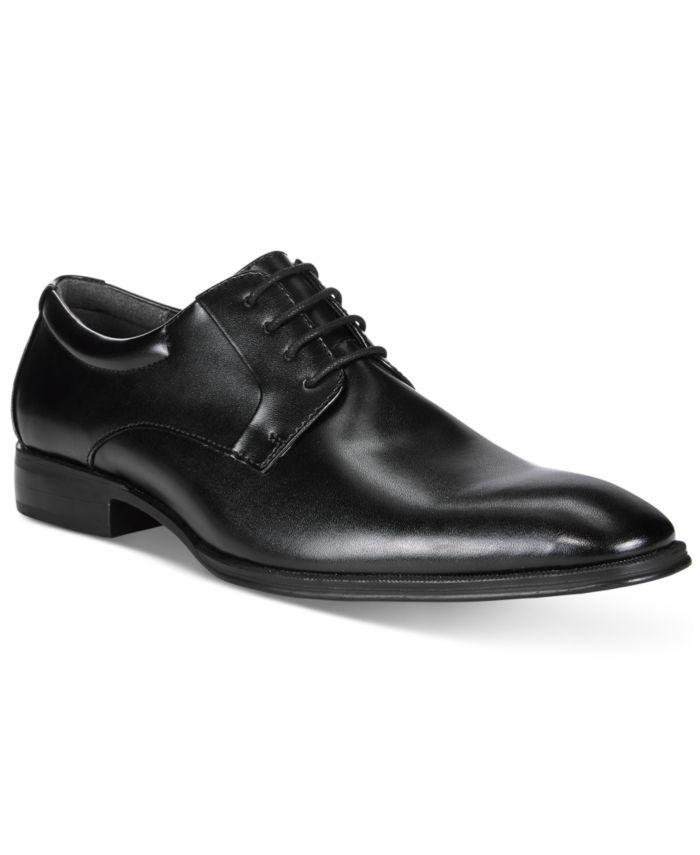 Alfani Men's Andrew Plain Toe Derbys, Created for Macy's & Reviews - All Men's Shoes - Men - Macy's