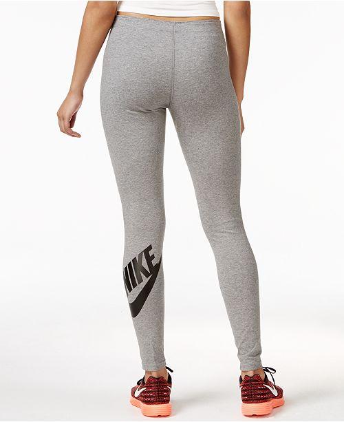 30daf026c264 Nike Leg-A-See Logo Leggings   Reviews - Pants   Capris - Women - Macy s