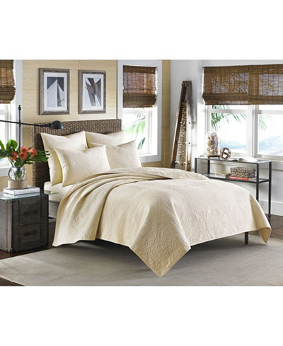 Tommy Bahama Home Nassau Ivory King Quilt