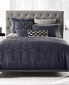 Hotel Collection Cubist Full/Queen Comforter, Created for Macy's