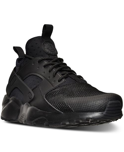 big sale 14a71 8f14d ... Nike Men s Air Huarache Run Ultra Running Sneakers from Finish ...