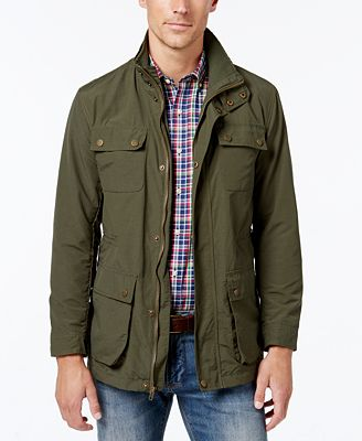 Club Room Men's Lightweight Field Jacket, Created for Macy's ...