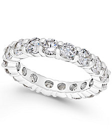 Charter Club Crystal All-Around Ring, Created for Macy's