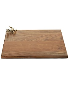 Michael Aram Olive Branch Collection Wood Cutting Board