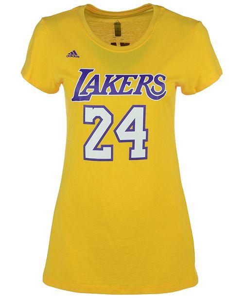 adidas Women s Kobe Bryant Los Angeles Lakers Player T-Shirt ... 204f0fe21d