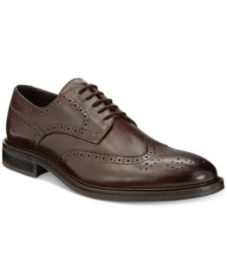 men's wing tip alfani shoes