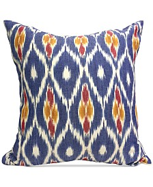 "Homewear Boho Ikat 20"" Square Decorative Pillows Collection"