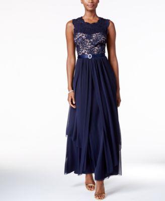 Lace and Chiffon Dresses