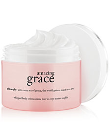 philosophy amazing grace whipped body crème, 8 oz