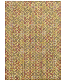 "Tommy Bahama Home Cabana Indoor/Outdoor 5501W Pink 3' 10"" x 5' 5"" Area Rug"
