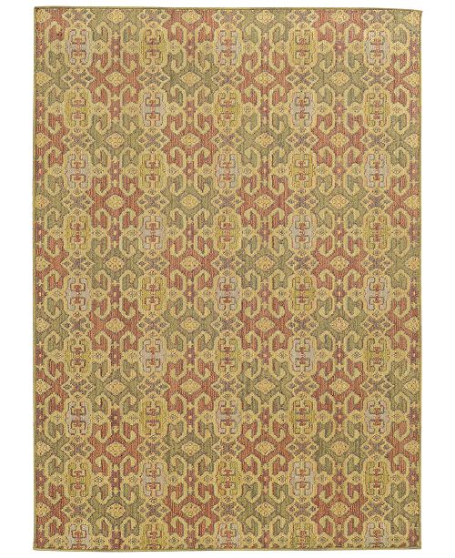 "Tommy Bahama Home Cabana Indoor/Outdoor 5501W Pink 7' 10"" x 10' 10"" Area Rug"