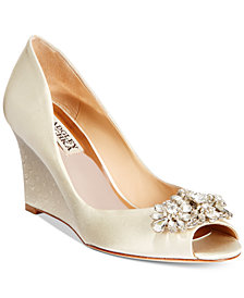 Badgley Mischka Dara Evening Wedges