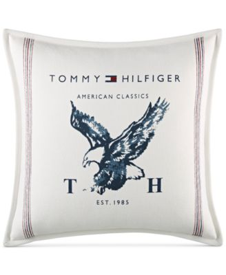 "Heritage Eagle 18"" Square Decorative Pillow"