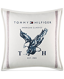"Tommy Hilfiger Heritage Eagle 18"" Square Decorative Pillow"