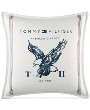 Tommy Hilfiger Heritage Eagle 18 Square Decorative Pillow Bedding