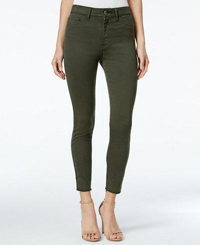 DL 1961 Jessica Alba No. 2 Grassland Wash Super-Skinny Jeans