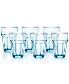 Rock Bar Set of 6 Highball Glasses