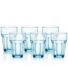 Bormioli Rocco Rock Bar Set of 6 Highball Glasses