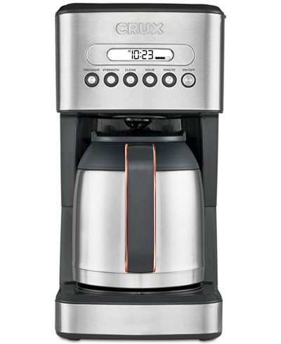 Crux Crx14541 10 Cup Thermal Coffee Maker Created For Macy S