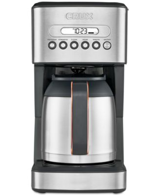 crux crx14541 10cup thermal coffee maker created for macyu0027s - Coffee Brewer