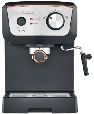 crux crx14542 15bar espresso maker created for macyu0027s - Coffee And Espresso Maker