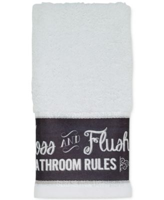 Chalk It Up Fingertip Towel