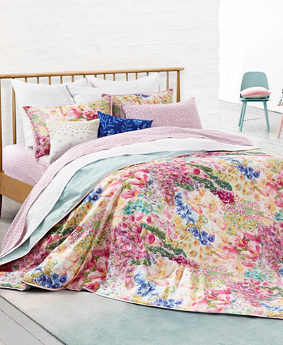 CLOSEOUT! bluebellgray Juliette King Duvet Set