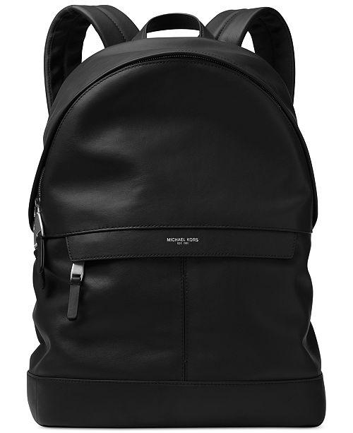 833a257f05b41 Michael Kors Men s Odin Resina Backpack   Reviews - Bags   Backpacks ...