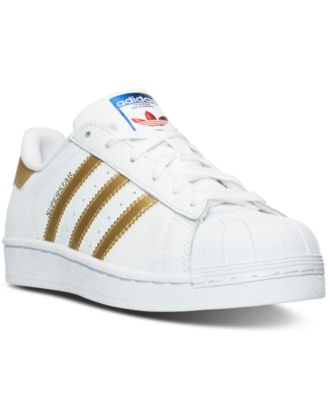 adidas Big Girls' ' Superstar Casual Sneakers