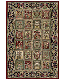 """CLOSEOUT! D Style Beacon BEA181 Red 3'3"""" x 5'1"""" Area Rug"""