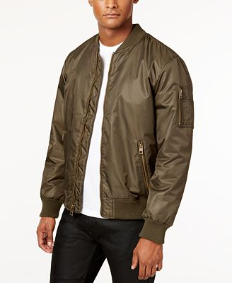 GUESS Men's Classic Bomber Jacket - Coats & Jackets - Men - Macy's