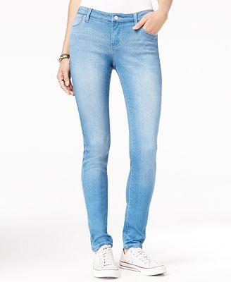 Celebrity Pink Juniors' Curvy Walker Super-Soft Skinny Jeans ...