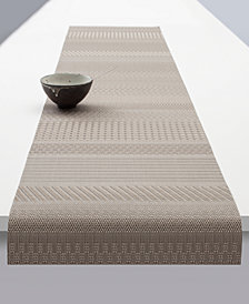 "Chilewich Mixed-Weave Luxe 72"" Table Runner"