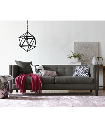 Braylei Track Arm Sofa, Created for Macy's Collection, Created for Macy's