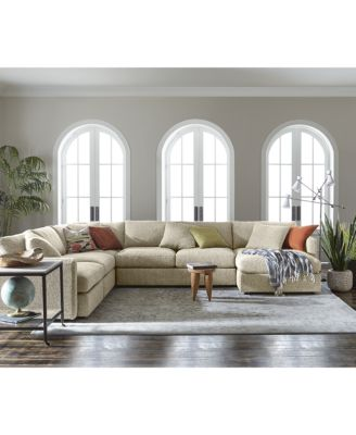 clinton fabric sectional collection created for macyu0027s