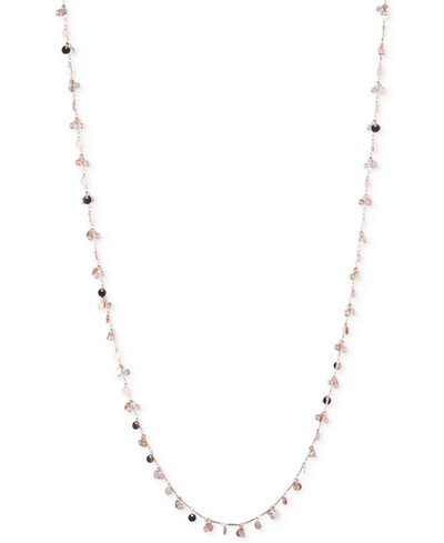 Image 1 of lonna & lilly Gold-Tone & Imitation Pearl Multi-Row Statement