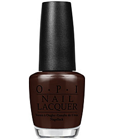 OPI Nail Lacquer, Shh... It's Top Secret