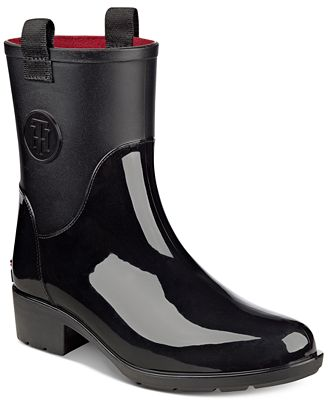 Tommy Hilfiger Khristie Rain Boots - Boots - Shoes - Macy's