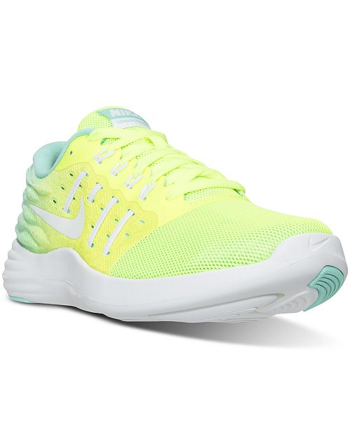 the best attitude 8f9a5 4edad ... Nike Women s LunarStelos Running Sneakers from Finish ...