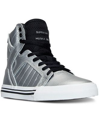 Supra Big Boys' Skytop High-Top Casual Sneakers from Finish Line