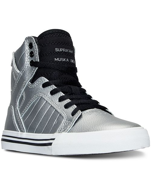 0591d9fd1f51 SUPRA Big Boys  Skytop High-Top Casual Sneakers from Finish Line ...